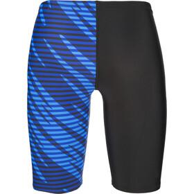 speedo Allover Panel V Cut Jammers Gutter black/blue
